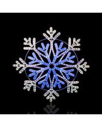 """36"""" Frost Snowflake-Warm White"""