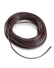 18/2 SPT 1 Zip Cord, Brown, 100'