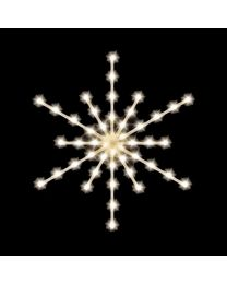 "Arctic Star Burst 36"", 45 Bulbs, LED"
