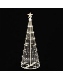 9' LED Light Show Tree