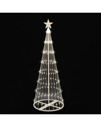 9' LED Light Show Tree-Warm White