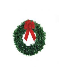 "24"" Deluxe Oregon Fir Wreath, Unlit"