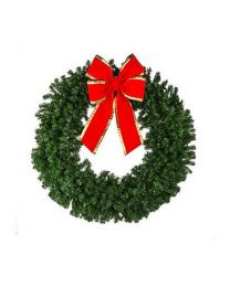 "36"" Deluxe Oregon Fir Wreath unlit"