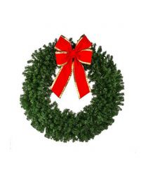 "36"" Deluxe Oregon Fir Wreath, Unlit"