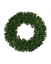 "84"" Deluxe Oregon Fir Wreath, Unlit-No Bow"