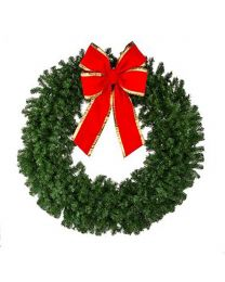 "96"" Deluxe Oregon Fir Wreath, Unlit"