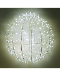 """Warm White LED Commercial Grade Foldable Sphere - 20"""", 30"""" and 40"""""""