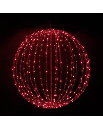 "32"" Foldable Sphere - Red - Consumer Grade"