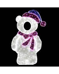 6.5' 2D LED Mother Bear