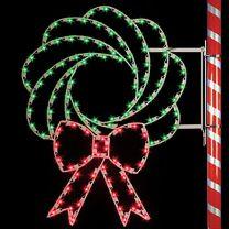 5' Wreath, LED