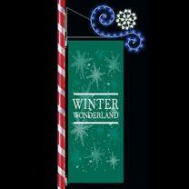LED Snowflake Scroll Enhancer