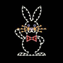 5' Easter Rabbit, LED