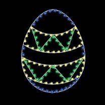 5' Egg #1, LED