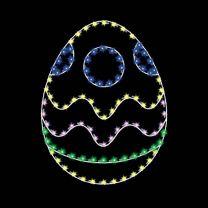 5' Egg #4, LED