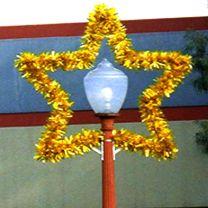 5 1/2' Star Lamp Cover, LED