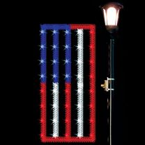 4' Garland Flag, LED