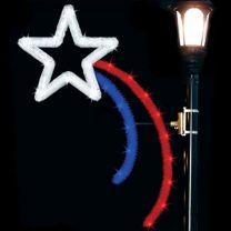 5' Patriotic Star, LED