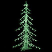 Downswept LED Ice Tree