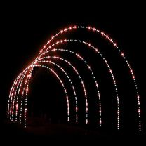 20' x 28' Lighted Arches (1 Each), LED
