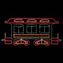 7' Belle of the 80's Passenger Car, LED