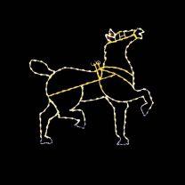 7' Horse (Head Raised), LED