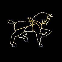 7' Horse (Head Lowered), LED