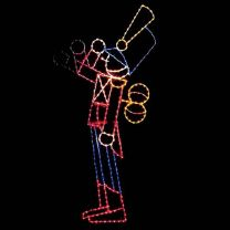 15' Saluting Toy Soldier, LED