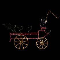 10 1/2' Farm Wagon, LED
