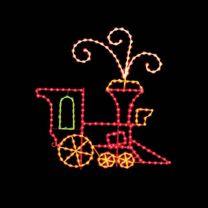 10' Silhouette Locomotive, LED