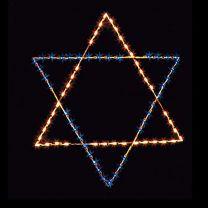 6' Silhouette Star of David