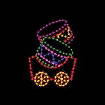 6' Silhouette Drum Car, LED