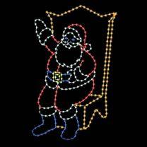 11' Sitting Santa, LED