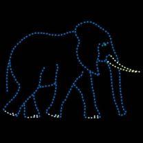 10' Daddy Elephant, LED