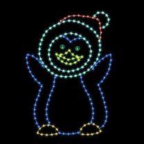 6' Penguin Daughter, LED