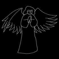 12' Angel Praying, LED