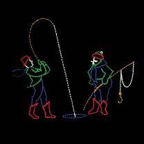 13' x 16' Victorian Fishermen, LED