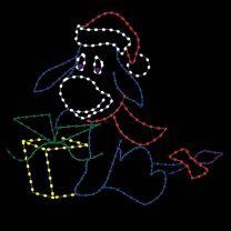 8' Christmas Donkey, LED