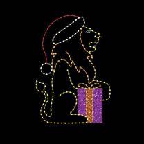 10' Christmas Lion, LED