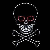 5' Skull & Cross Bones, LED