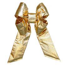 "36"" Gold Mylar Christmas Bow"