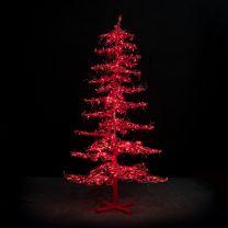 12' Ice Sculpture Christmas Tree - Green