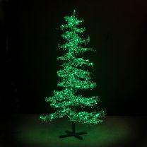 9' Ice Sculpture Christmas Tree - Green