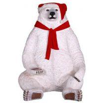 7.5' Sitting Christmas Bear