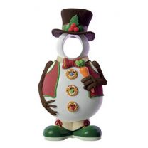 6' Snowman with Hat