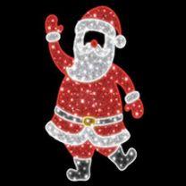 6.5' 2D LED  Santa - Photo Op Display