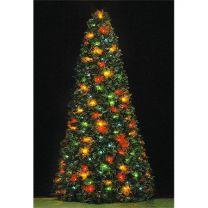 7 spiral ornament tree