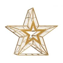 7' 3D LED Star Icon Deluxe - Warm White