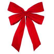 """36"""" Red Velvet Christmas Bow"""