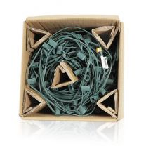 """C9 Cord, 18"""" Spacing, Green Wire, SPT-1, 250'"""