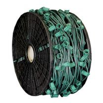 """C9 Cord, 18"""" Spacing, Green Wire, SPT-1, 500'"""